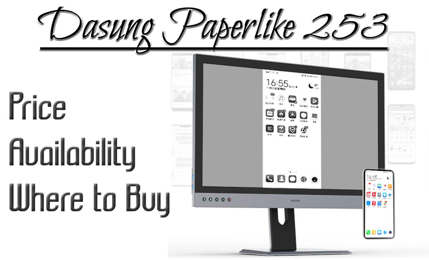 dasung paperlike 253 buy price